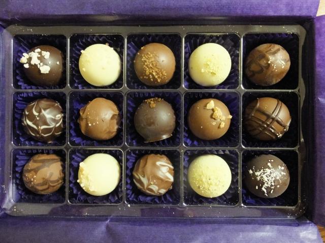 ルクマ入りのチョコレート