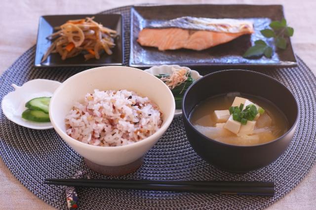 体質改善ダイエットの食事メニュー