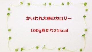 虻川美穂子(北陽)のダイエット!かいわれ大根の栄養と効果と育て方