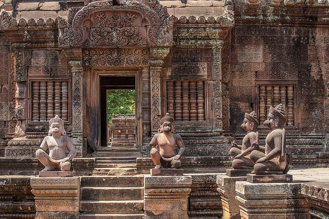 カンボジアのシェムリアップ