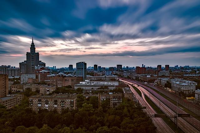 ロシアのモスクワ