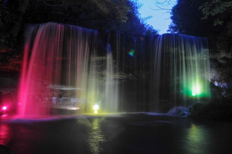 熊本県小国町の鍋ヶ滝