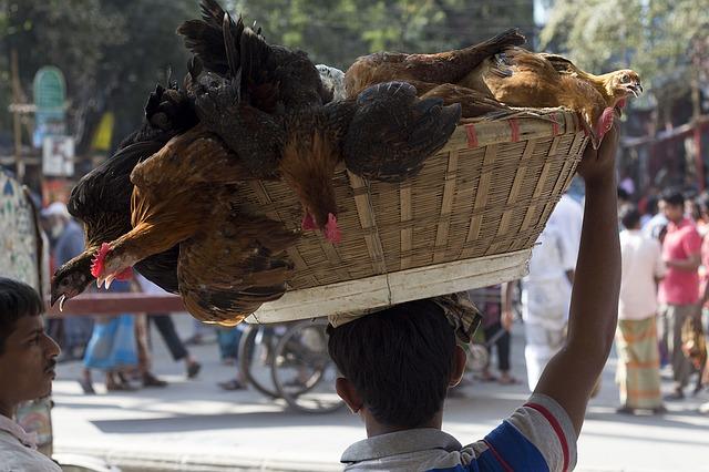 バングラデシュの首都ダッカ