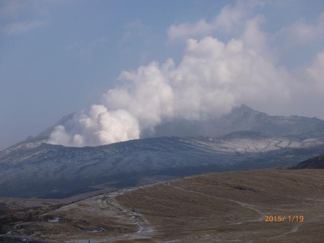 阿蘇中岳の噴火