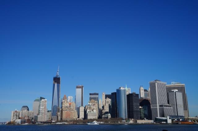 白石阿島が住んでいるニューヨーク