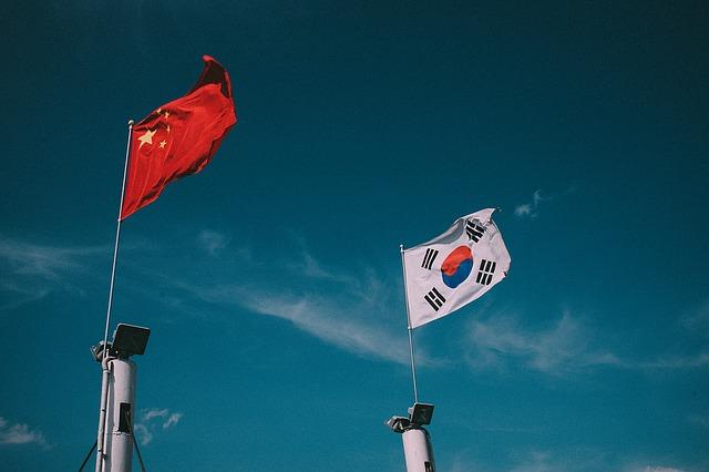 韓国と中国との関係