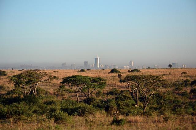 ケニアのナイロビ