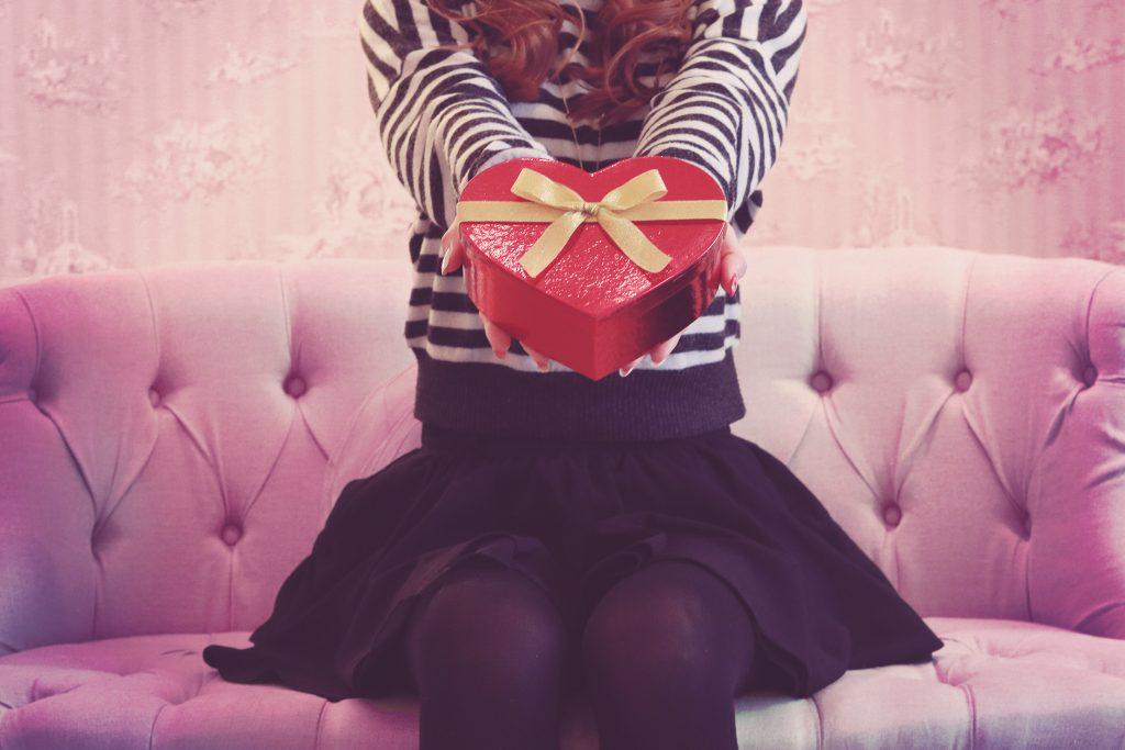 バレンタインチョコを渡す場所