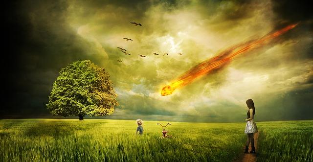 隕石の地球への衝突