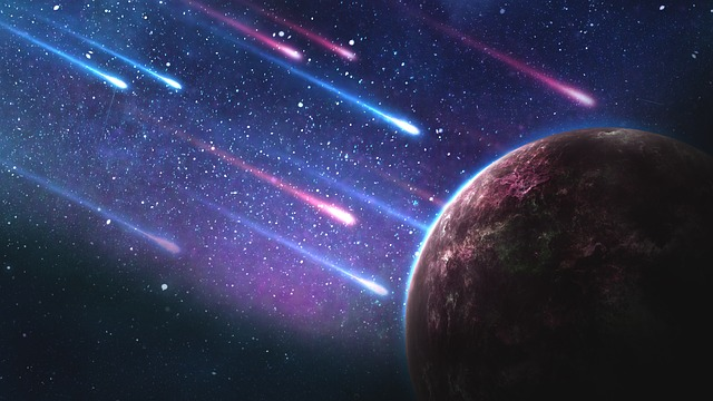 小惑星の衝突