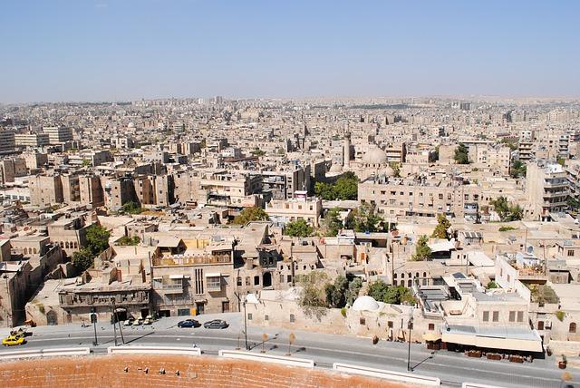 シリアのアレッポ