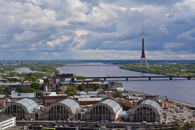 ラトビアの首都リガ